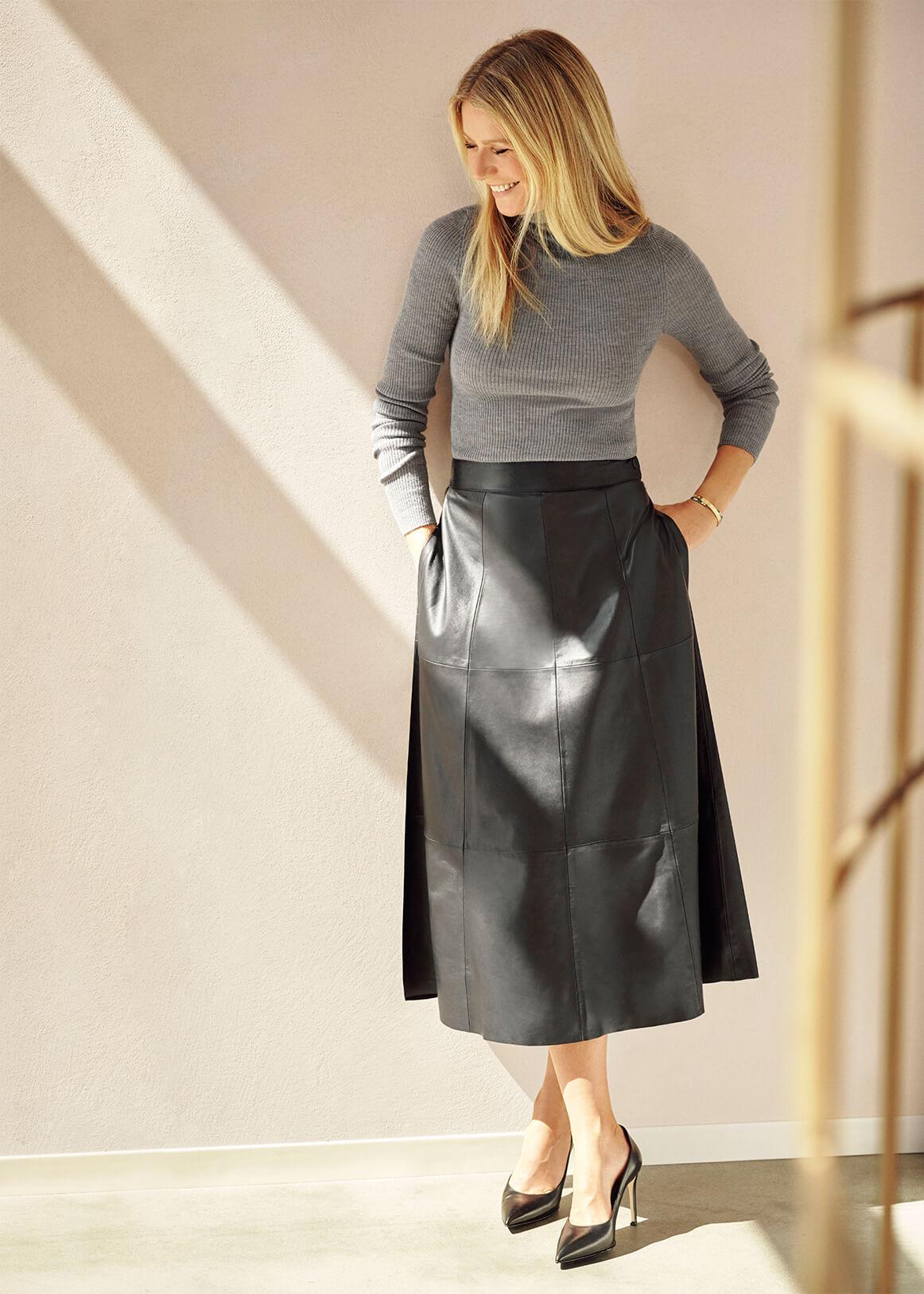Kristina Fine-Rib Turtleneck Sweater