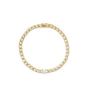Plain Chain-Link Bracelet