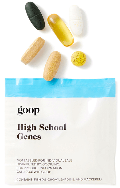 goop Wellness High School Genes
