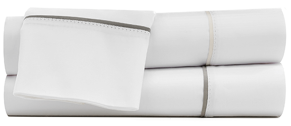 Under the Canopy Italian Hemstitch Sheet Set