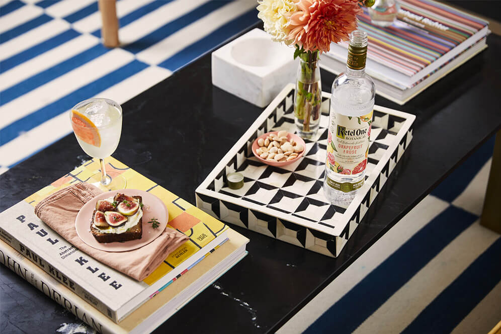 ketel one drink with hors d'oeuvres