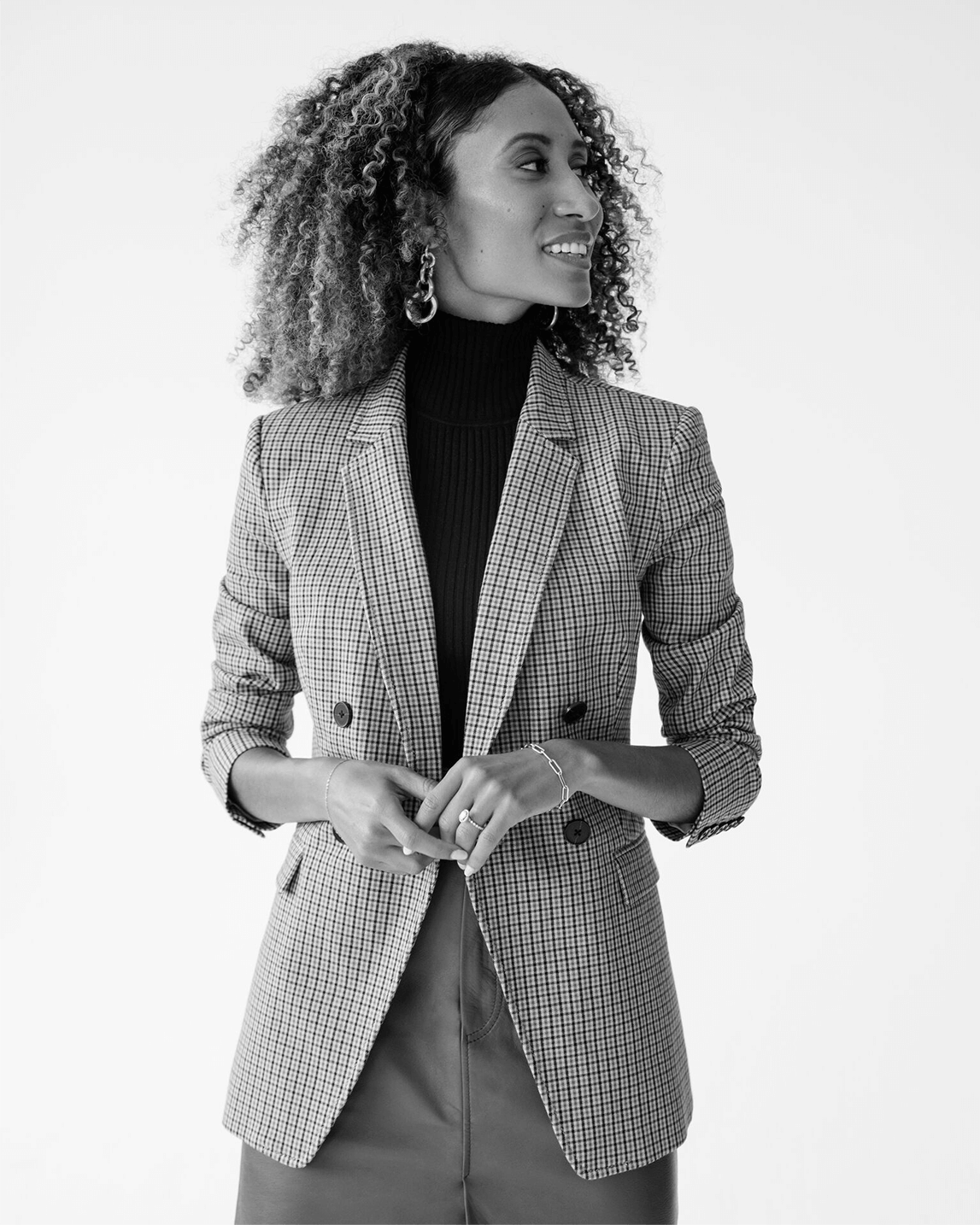 Elaine Welteroth in Banana Republic
