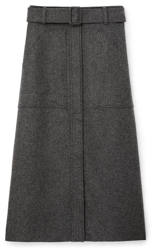G. Label Danielson Midlength Skirt