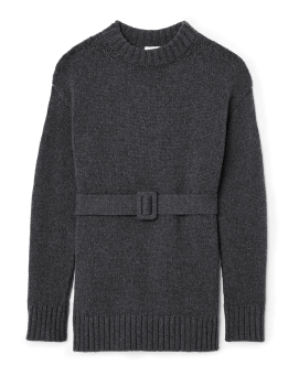 G. Label Fares Belted Sweater
