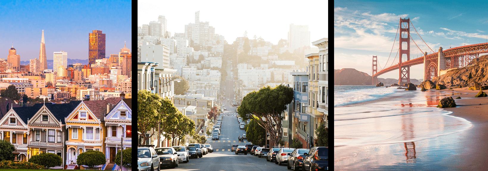 San Francisco sightseeing locations