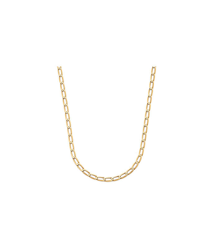 Disco mobile-Gold Chain Necklace