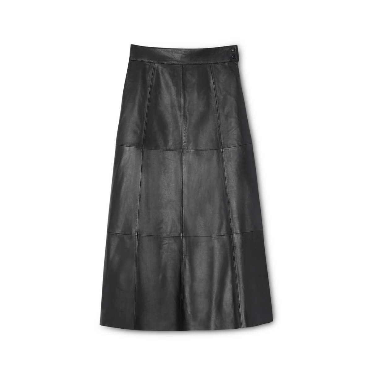 Marilyn Midlength Leather Skirt