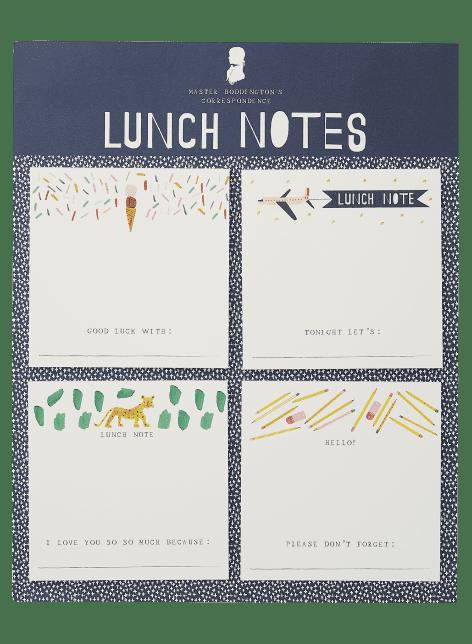Mr. Boddington's Studio Lunch Notes Set
