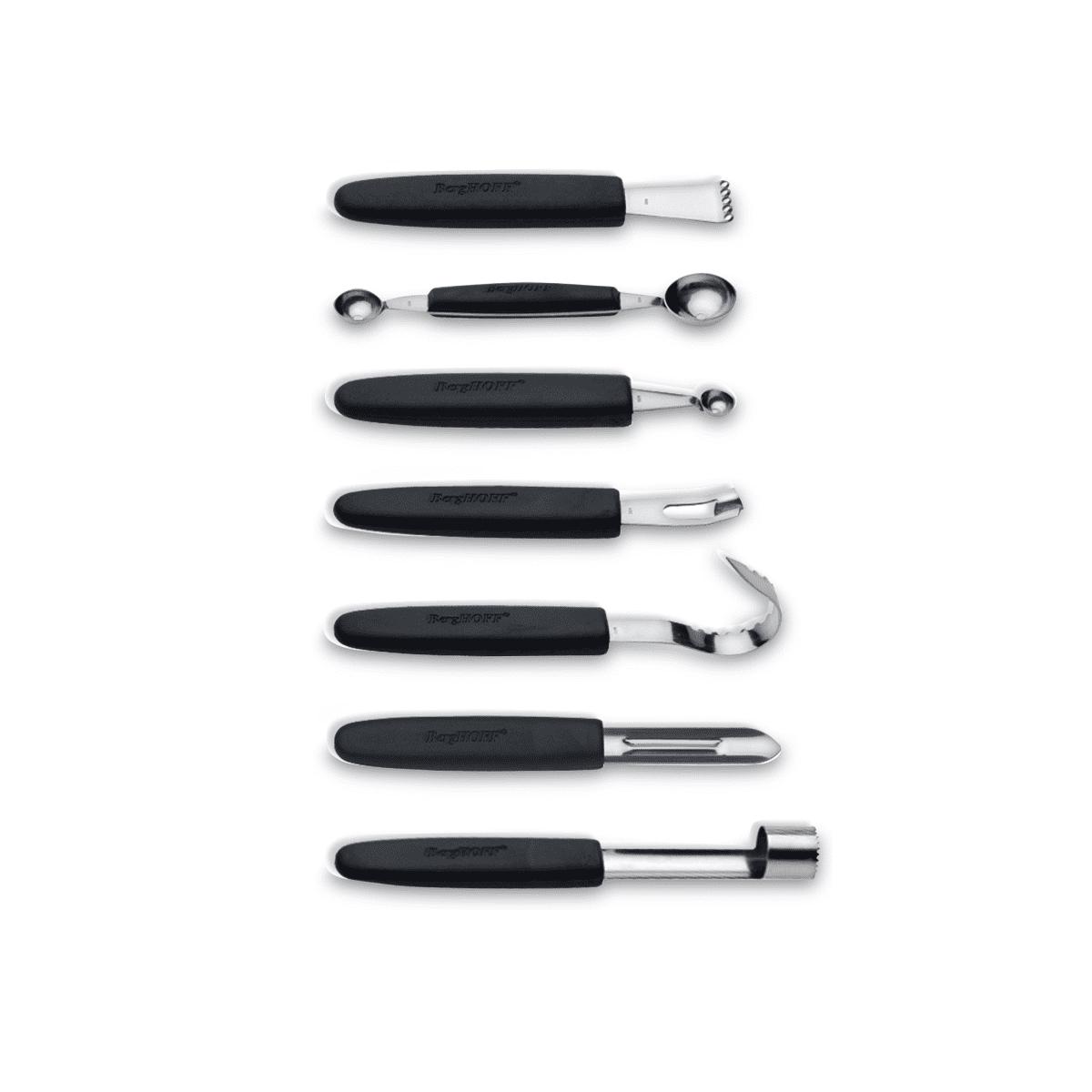 Berghoff 8 Piece Stainless Steel Garnishing Tool Set