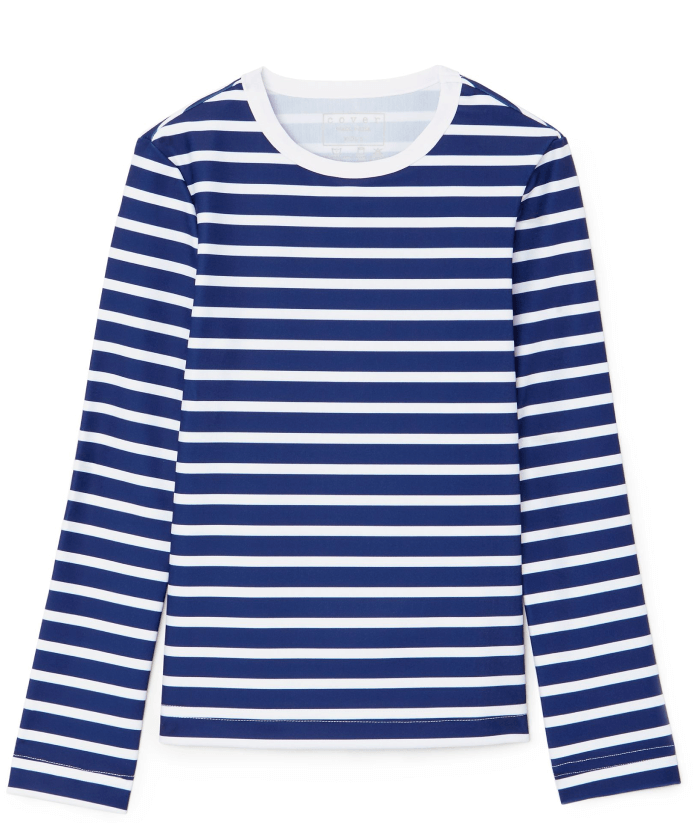 Cover Long-Sleeved Swim Tee