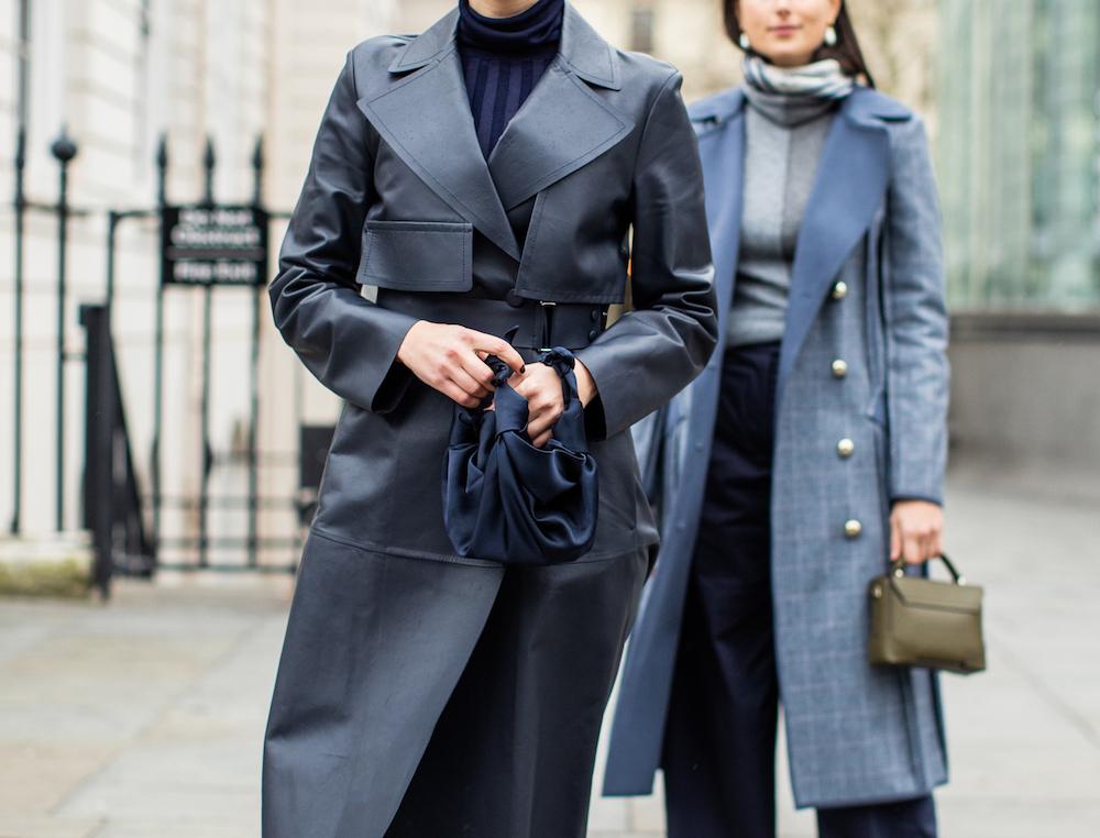 woman wearing coats