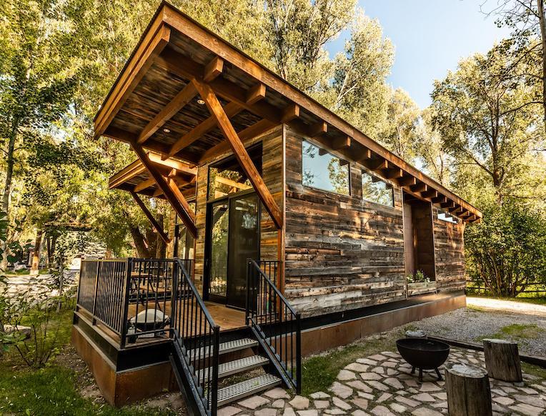 Fireside Resort  <br>Wilson, Wyoming</em>