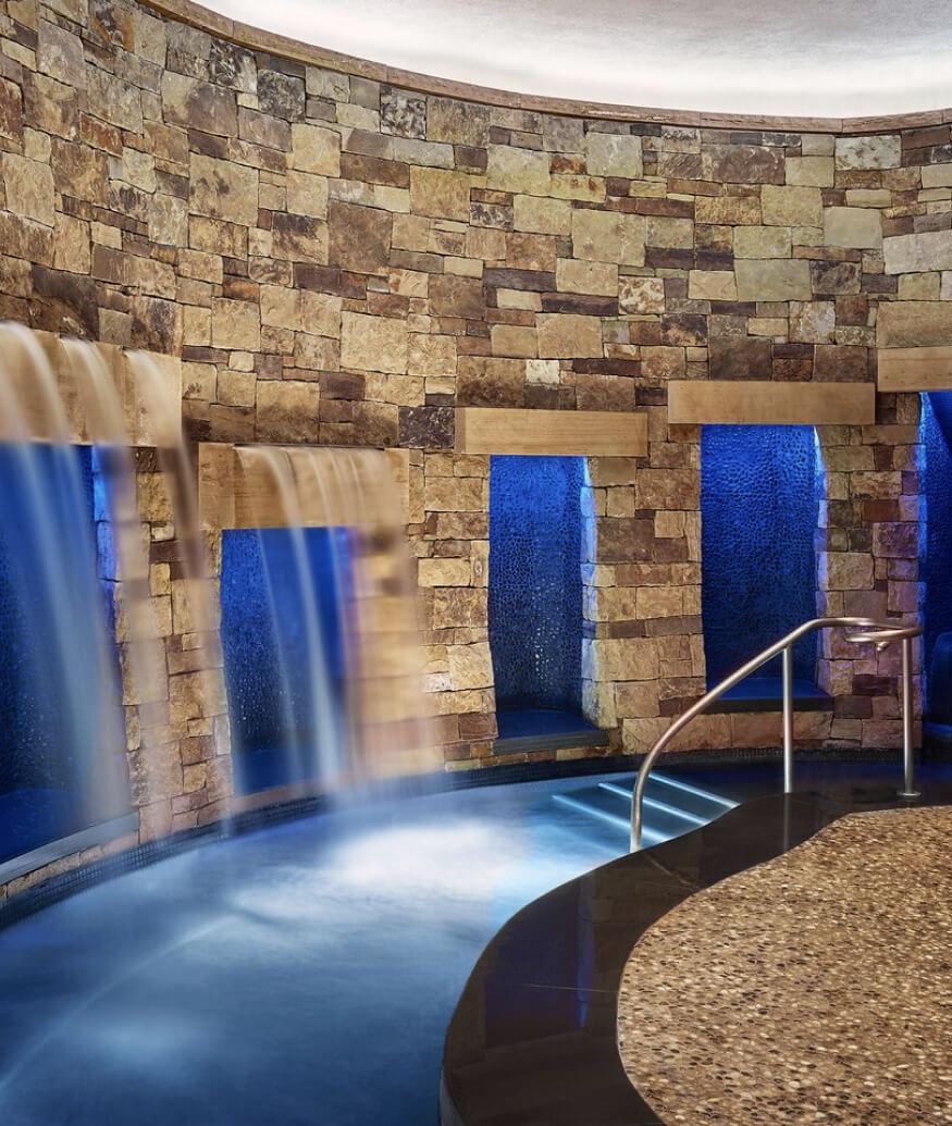 indoor waterfalls