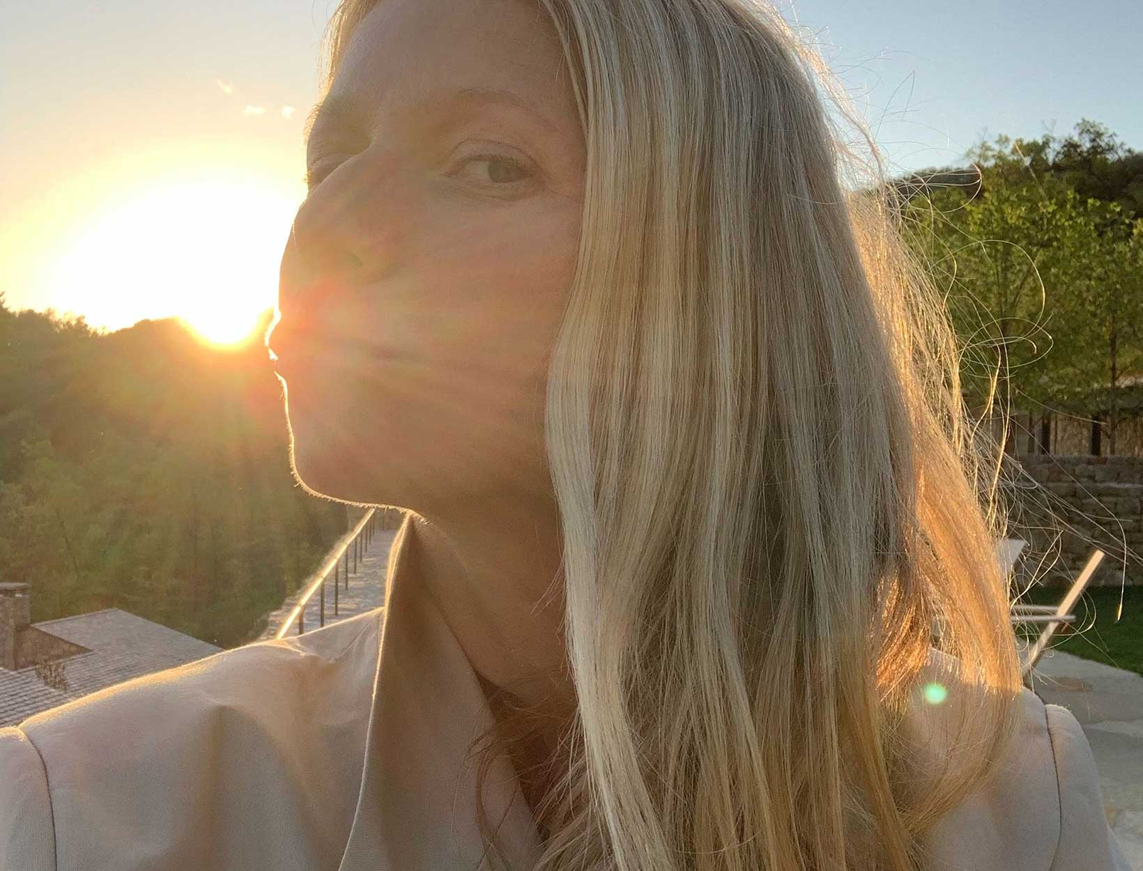 Gwyneth in the sun