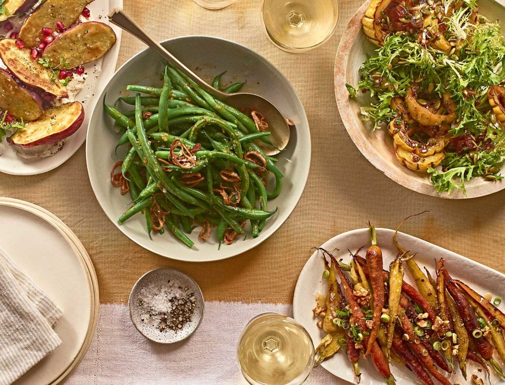 4 Easy, Wild Card Veggie Sides for Thanksgiving Day