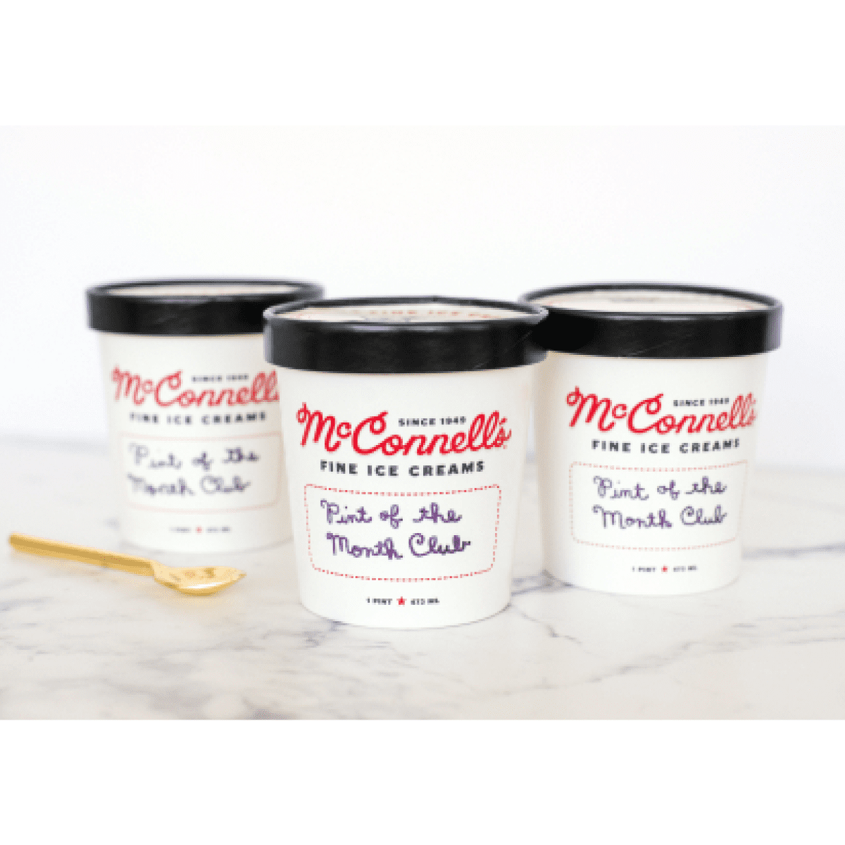 McConnell's Ice Cream of the Month Club