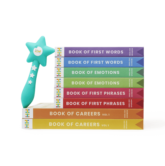 Habbi Habbi Reading Wand & Bilingual Book Set