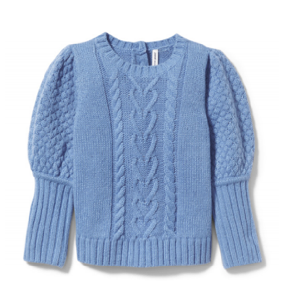 Janie and Jack Puff Sleeve Cable Knit