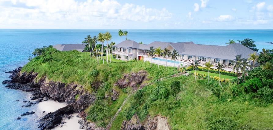 Kokomo Island Beachfront Villa