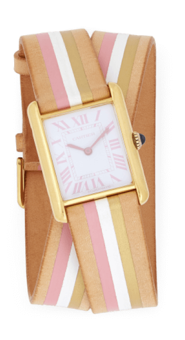 La Californienne Large Cartier Tank Wrap Strap Watch