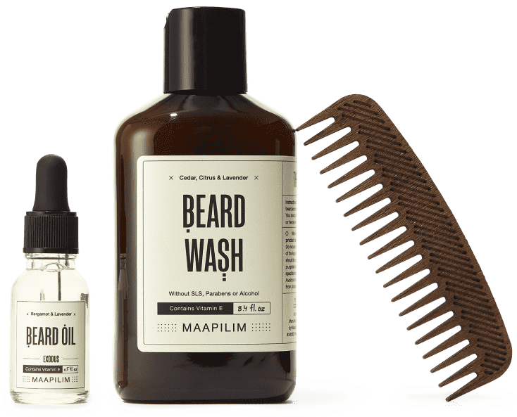 MAAPILIM Medium Beard Kit