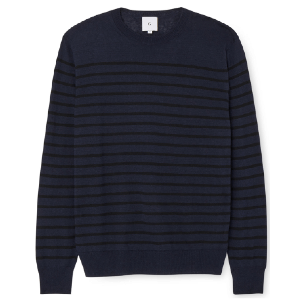 G. Label Tony Striped Linen Sweater