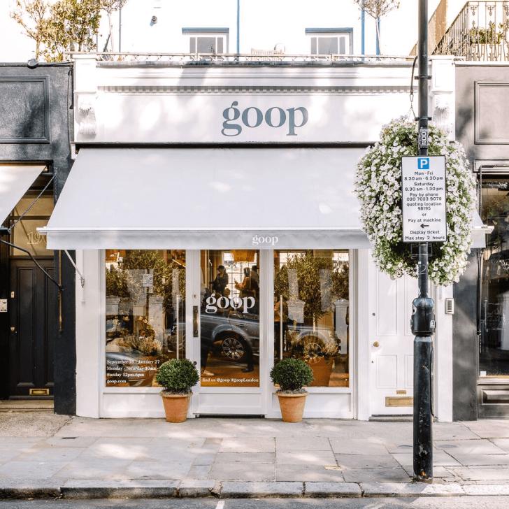 goop store exterior