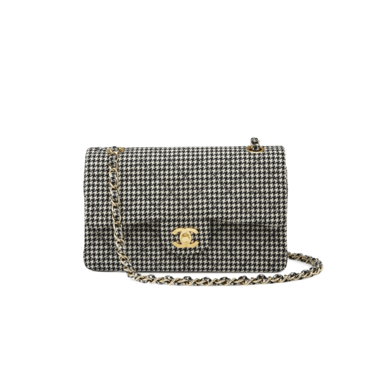 What Goes Around Comes Around Chanel Houndstooth 2.55 9