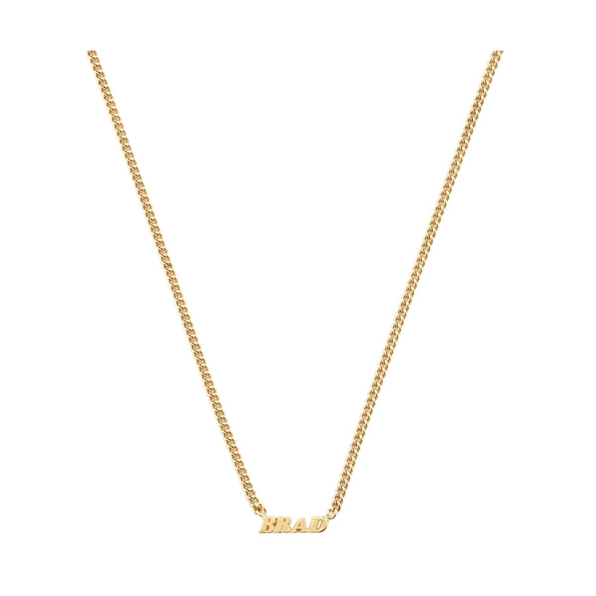 Ariel Gordon Carmella 14K Yellow-Gold Name It Necklace