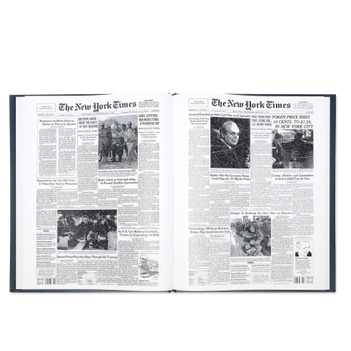 The New York Times New York Times Custom Birthday Book