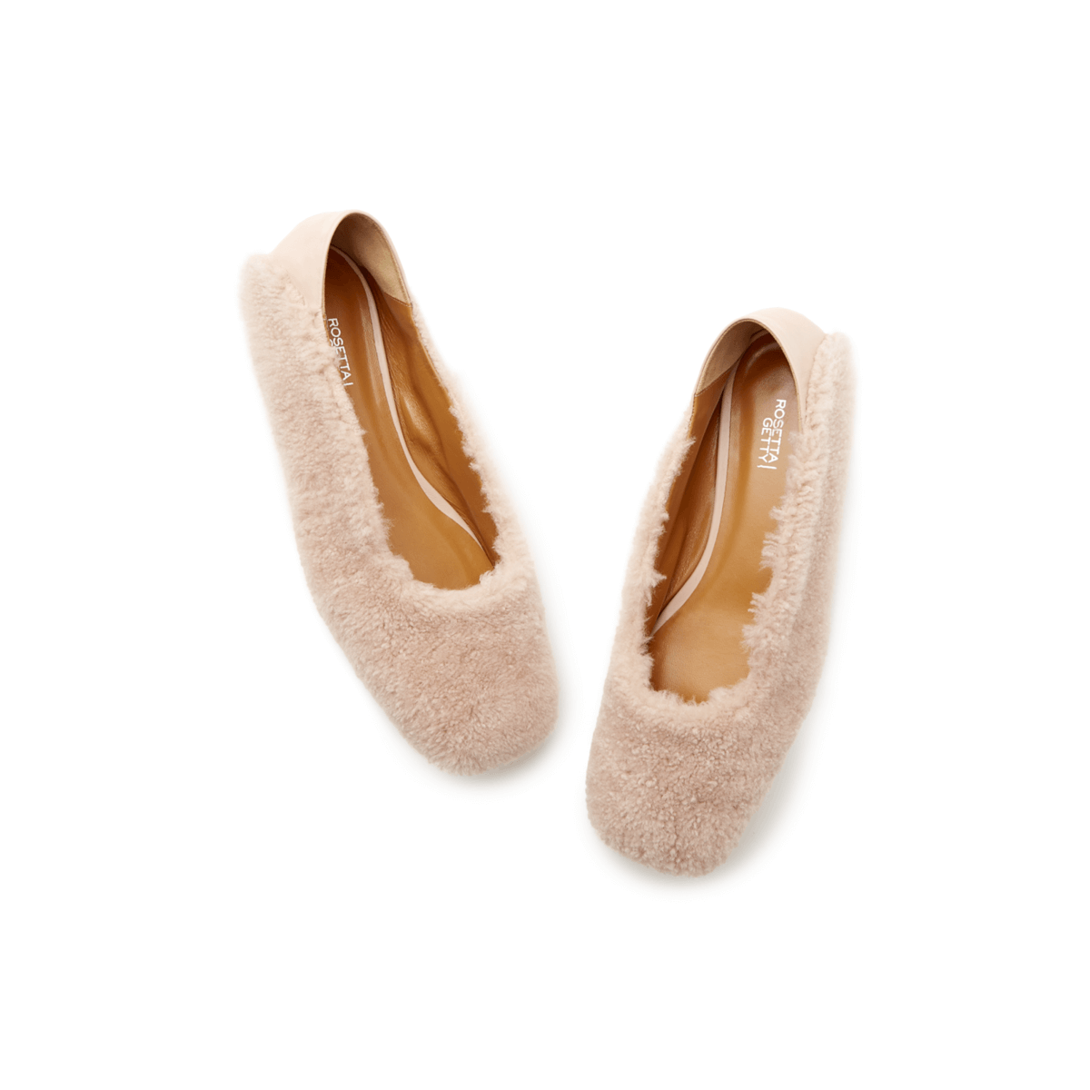 Rosetta Getty Shearling Loafer