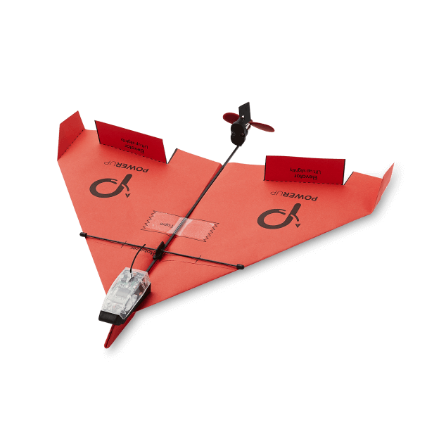 Powerup Toys Smartphone Controlled Paper Airplane 3.0