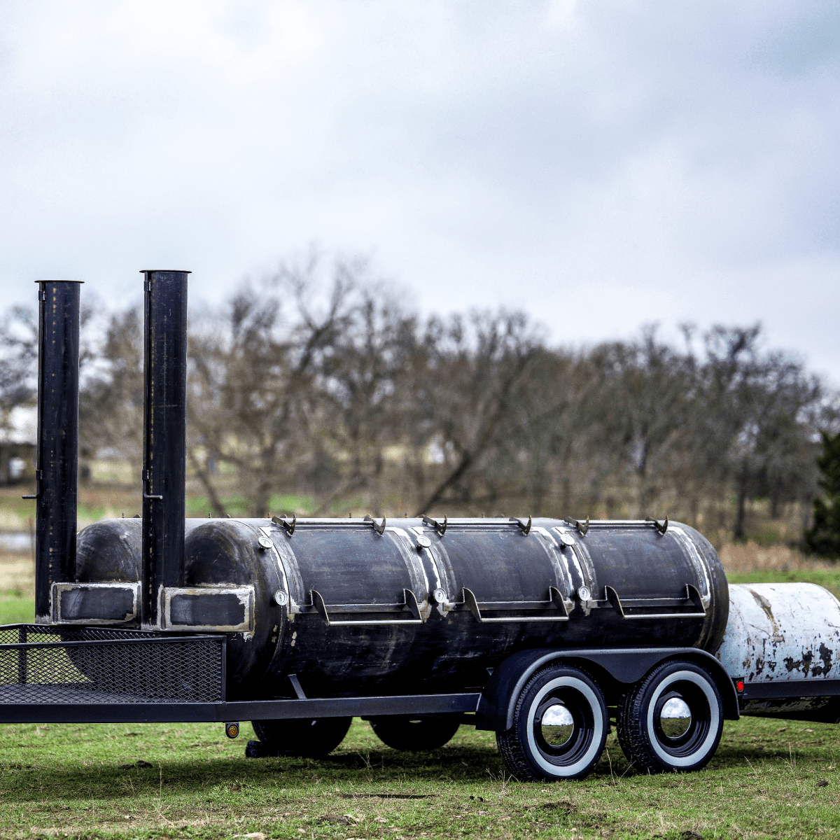 Mill Scale The Double 570 Offset Smoker