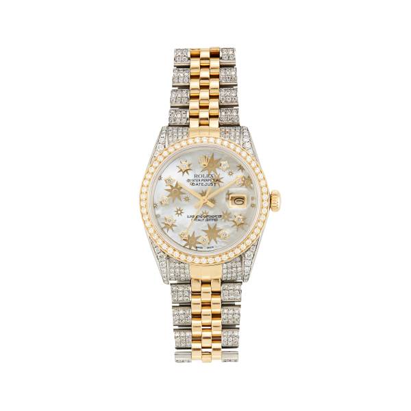 Rolex x Colette 36MM Datejust Cosmos Rolex Watch