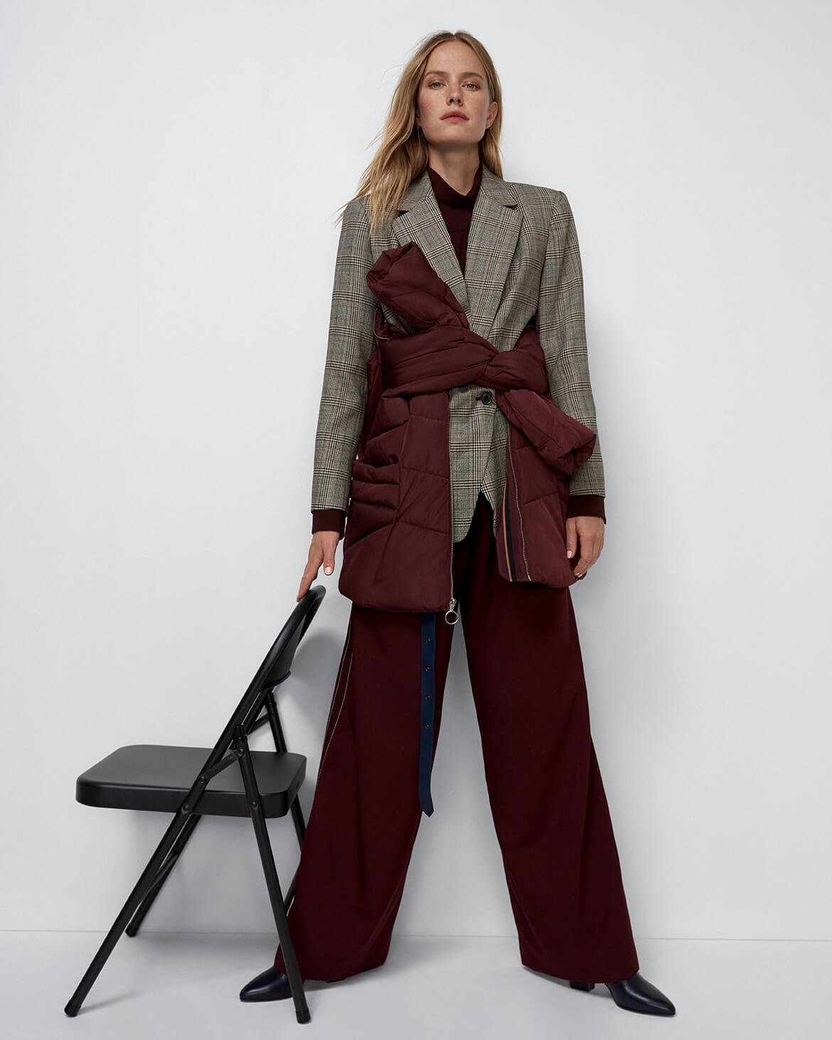 Andrew Marc Jacket and Marni Trousers
