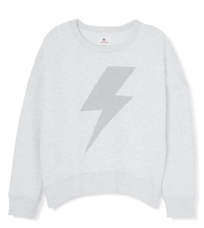 Sundry Lightning Bolt Sweatshirt