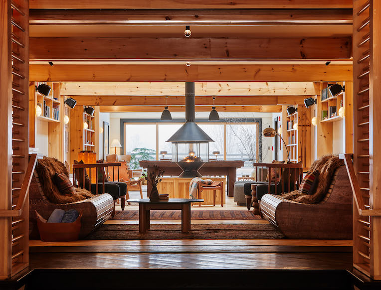Scribner's Catskill Lodge <br><em>Hunter, New York</em>