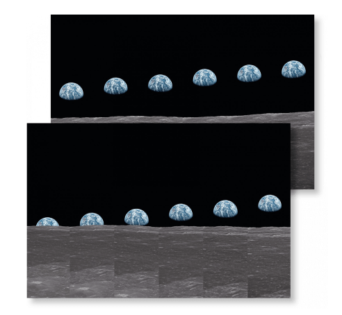 Taschen Buzz Aldrin. Apollo 11. 'Earthrise Sequence' Signed Edition