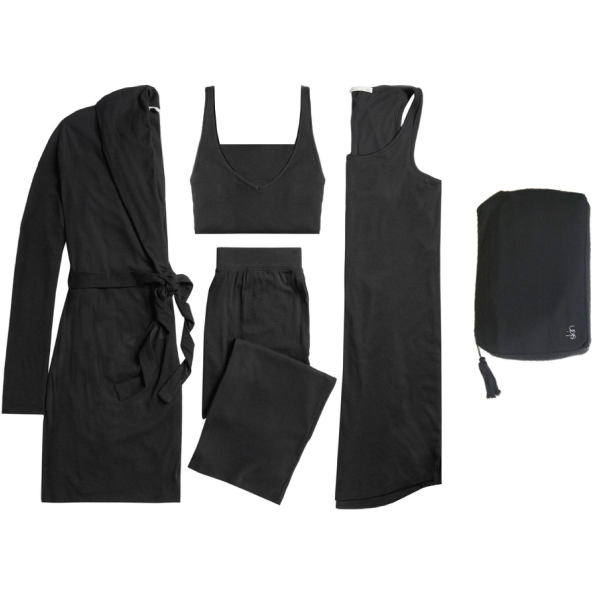 Skin 4-Piece Travel Set with Zip Bag