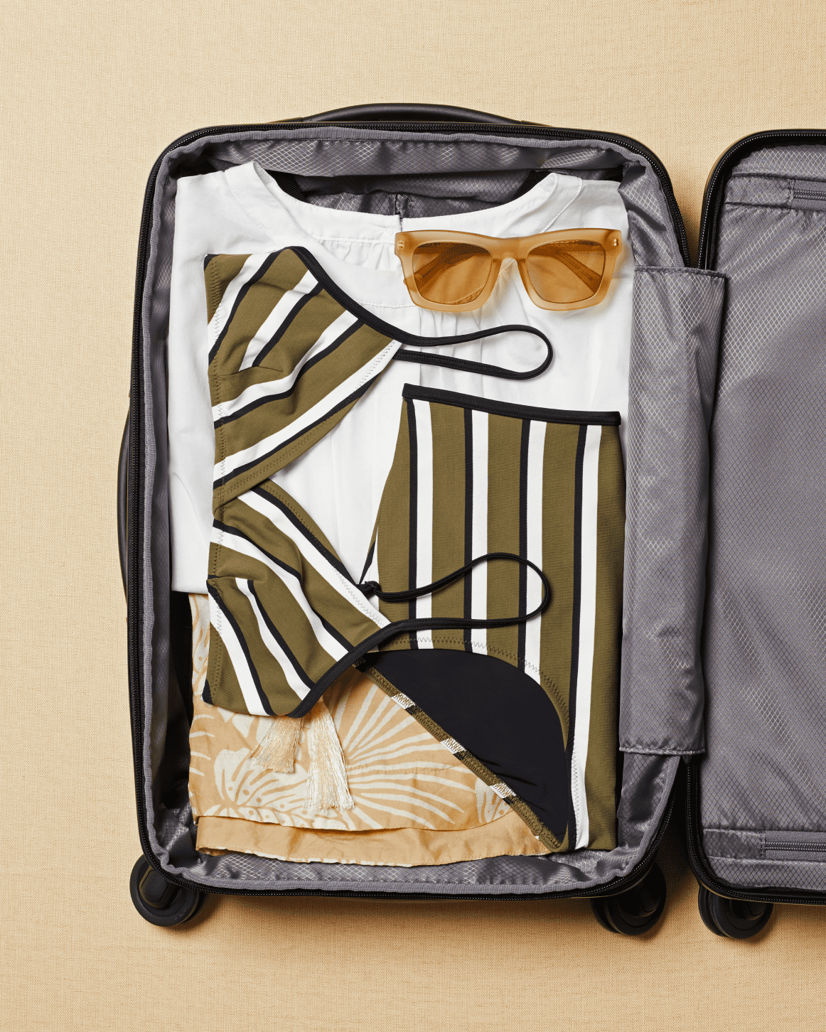 Tumi Carry-On with Swimsuit