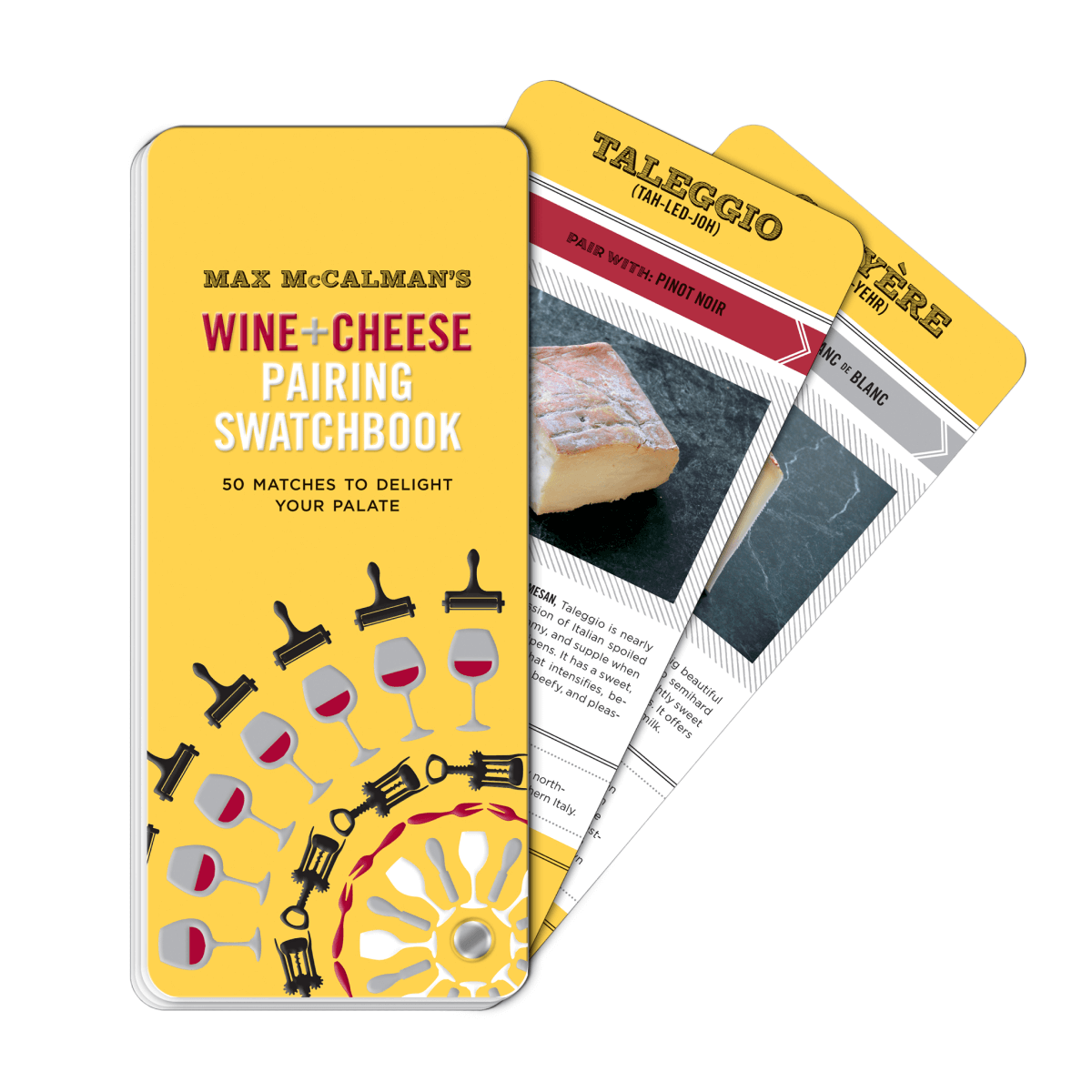 Penguin Random House Wine and Cheese Pairing Swatchbook