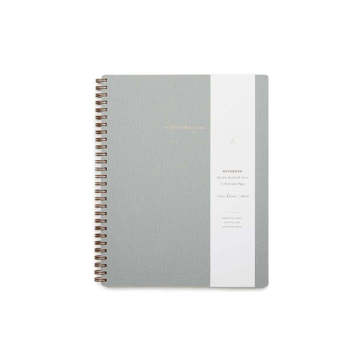 goop x Appointed goop Exclusive, s(elf) reflections Notebook