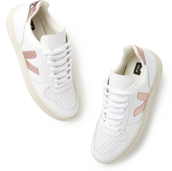 Veja V-10 Nacre Sneakers