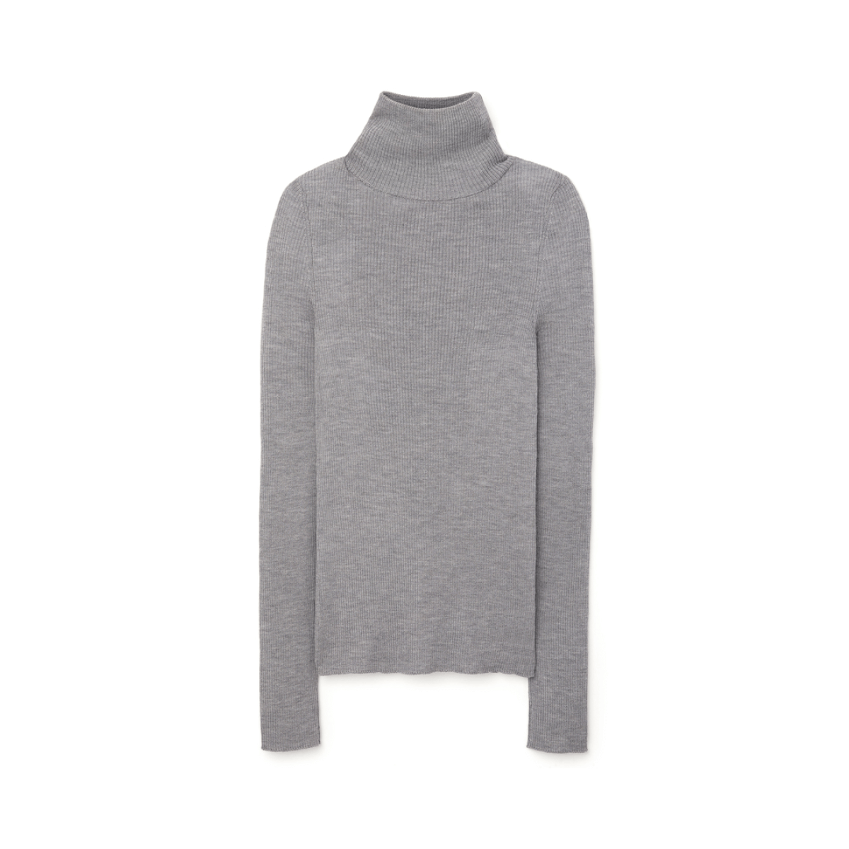 G. Label Krsitina Fine Rib Turtlneck Sweater