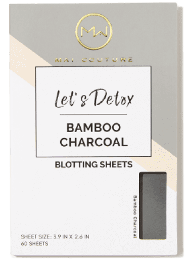 Mai Couture Bamboo Charcoal Blotting Paper