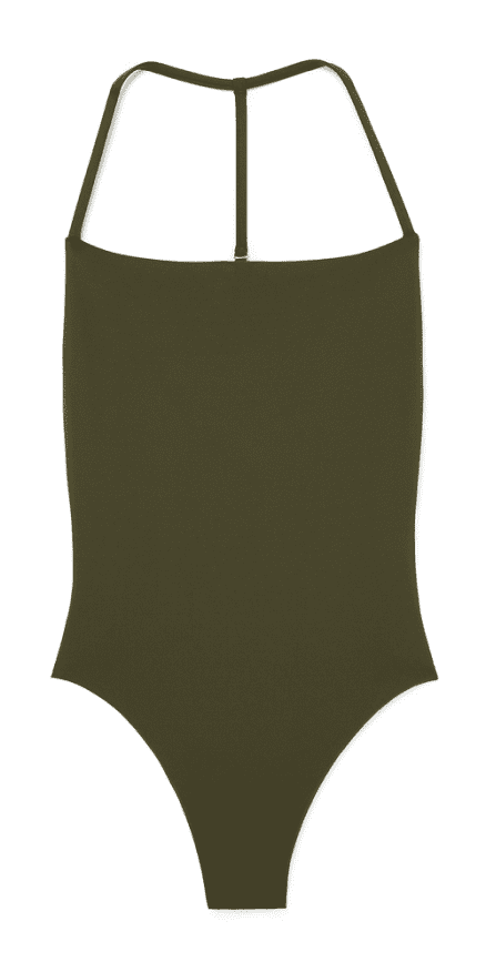 G. Label Strappy Maillot