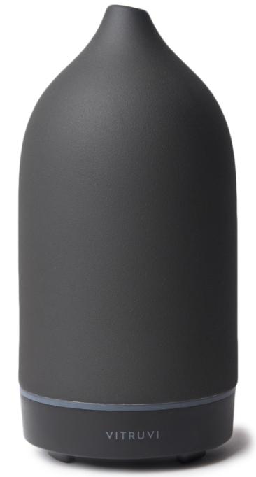 vitruvi STONE DIFFUSER in black