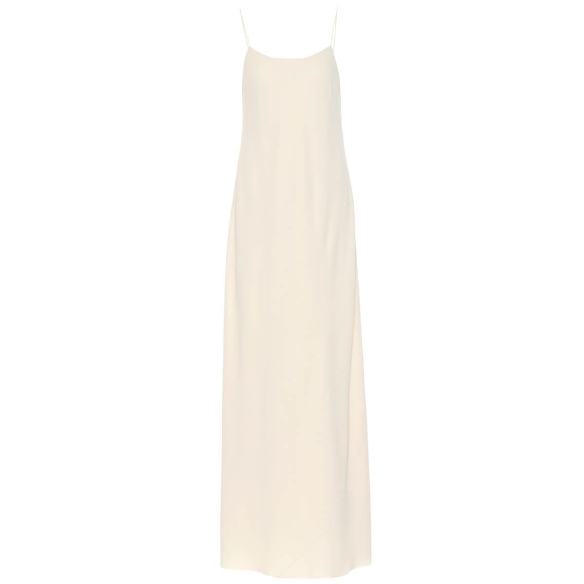 THE ROW Ebbins sleeveless crêpe dress