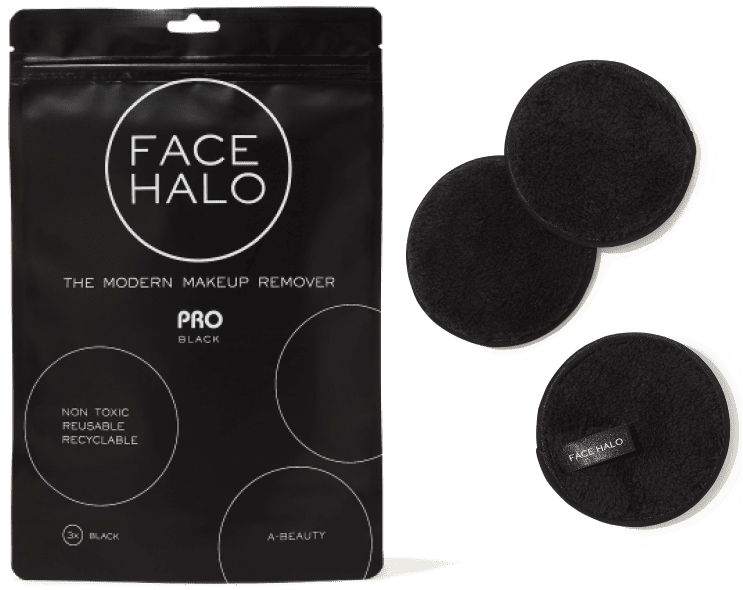 Face Halo The Modern Makeup Remover Pro Black