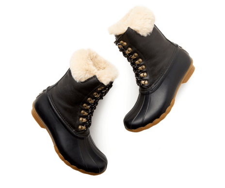 Sperry Saltwater Tall Leather Luxe Duck Boots